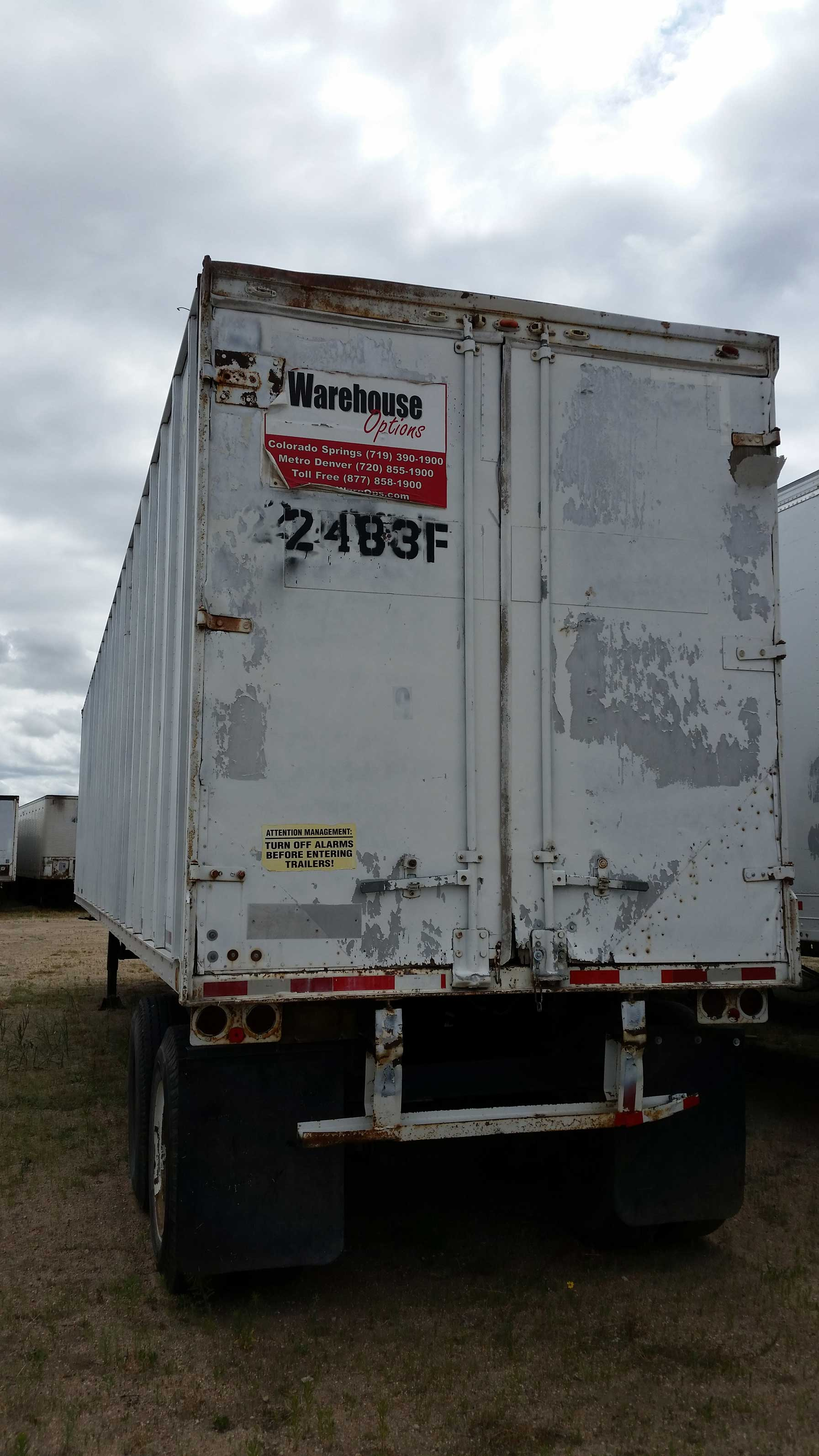 Commercial Trailer Unit : Sold fruehauf foot semi trailer reduced to