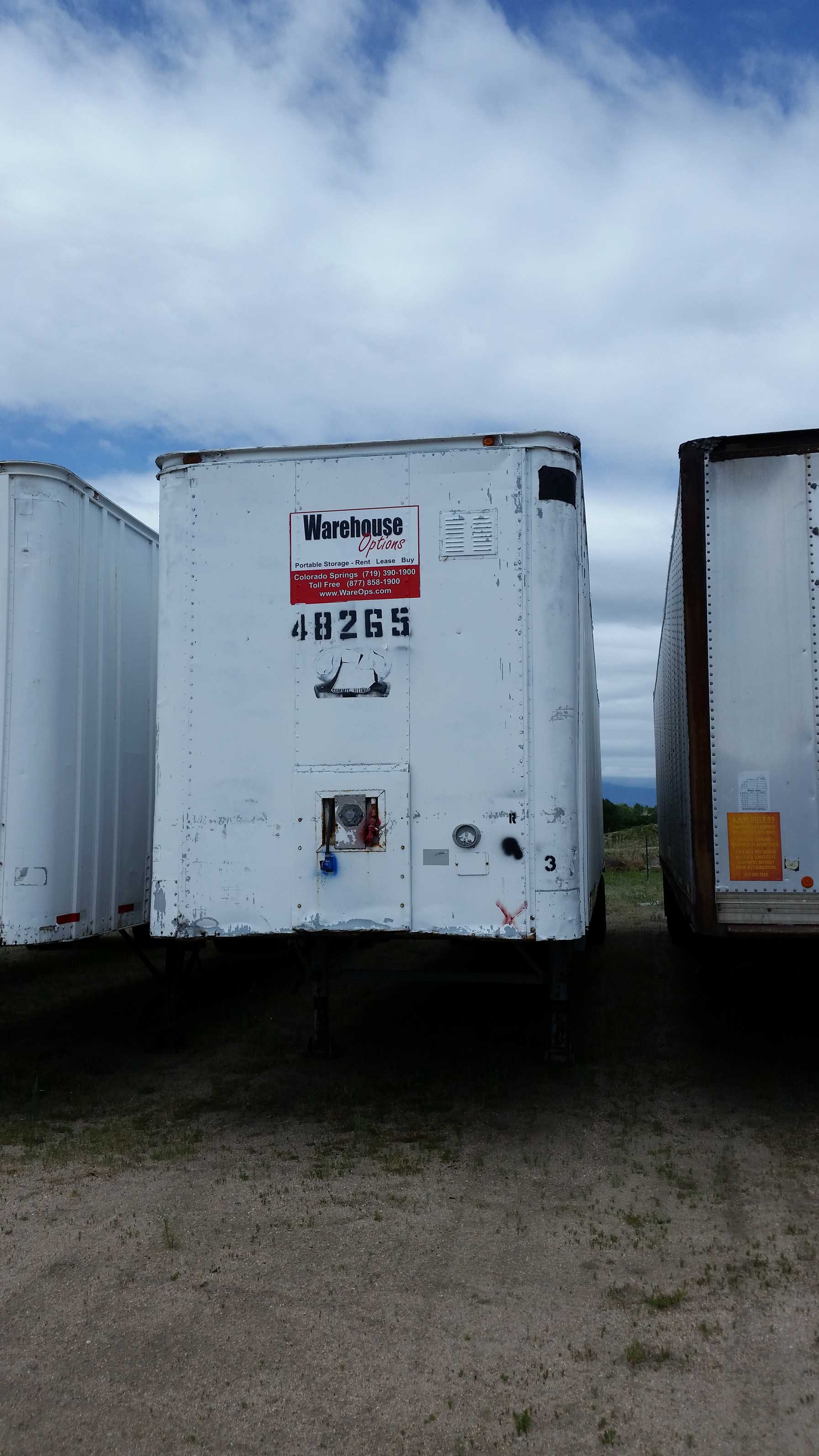 Commercial Trailer Unit : Sold classic strick foot semi trailer for sale
